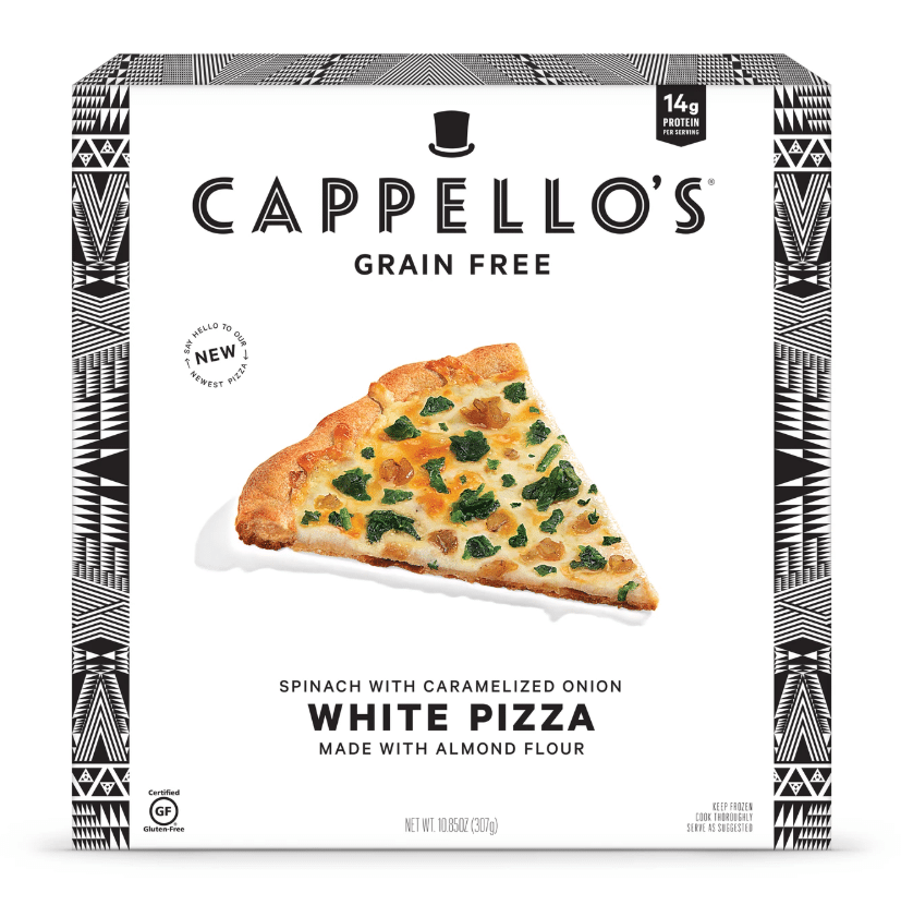 Cappello's Debuts White And Margherita Almond Flour Pizza