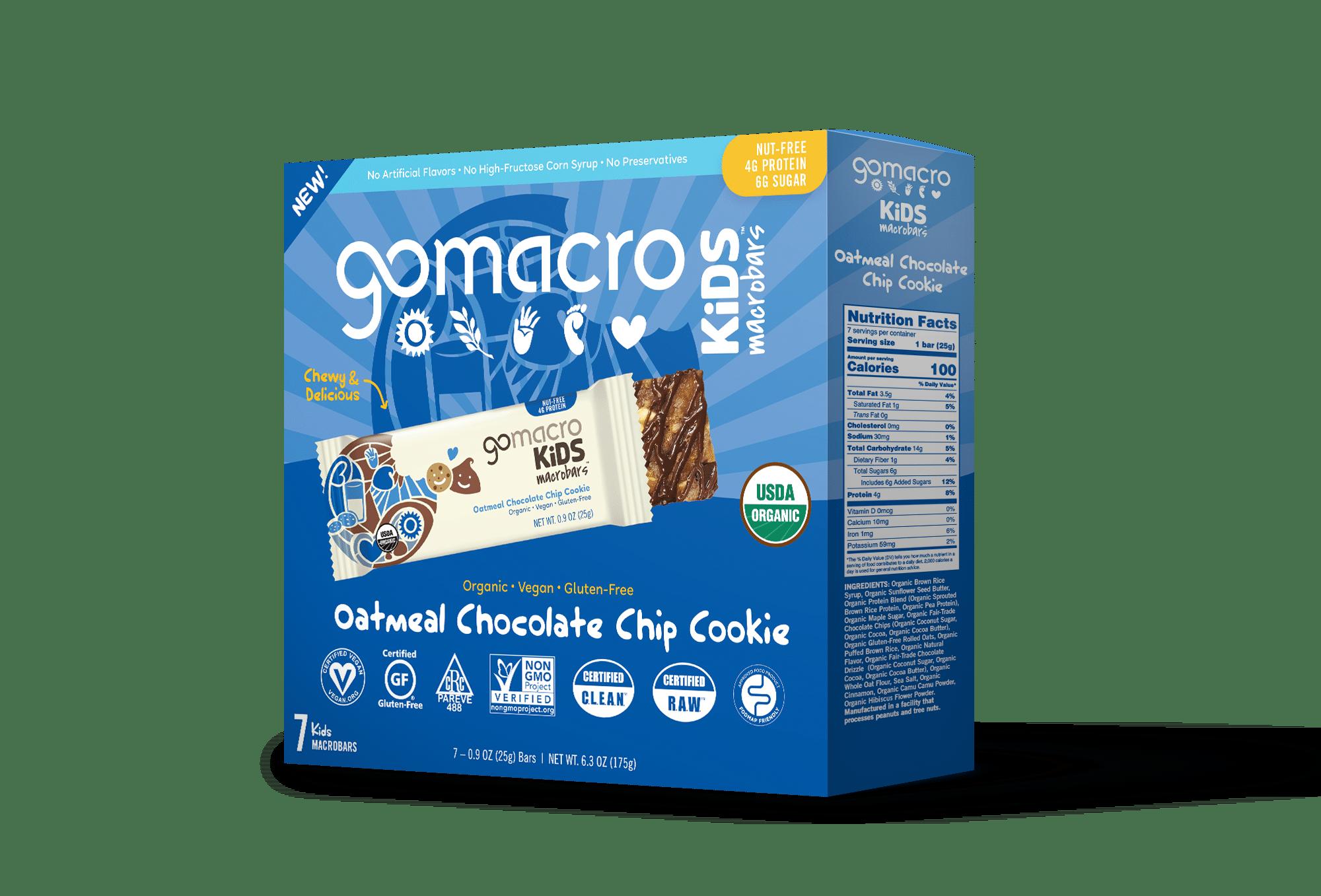 GoMacro Launches New Kids MacroBar Line