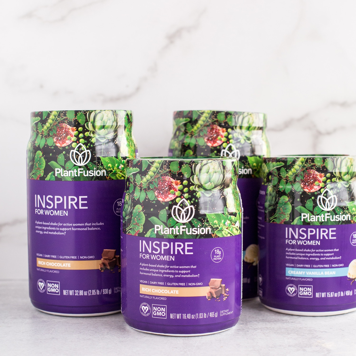 PlantFusion Launches INSPIRE FOR WOMEN Plant-Based Protein Supplement