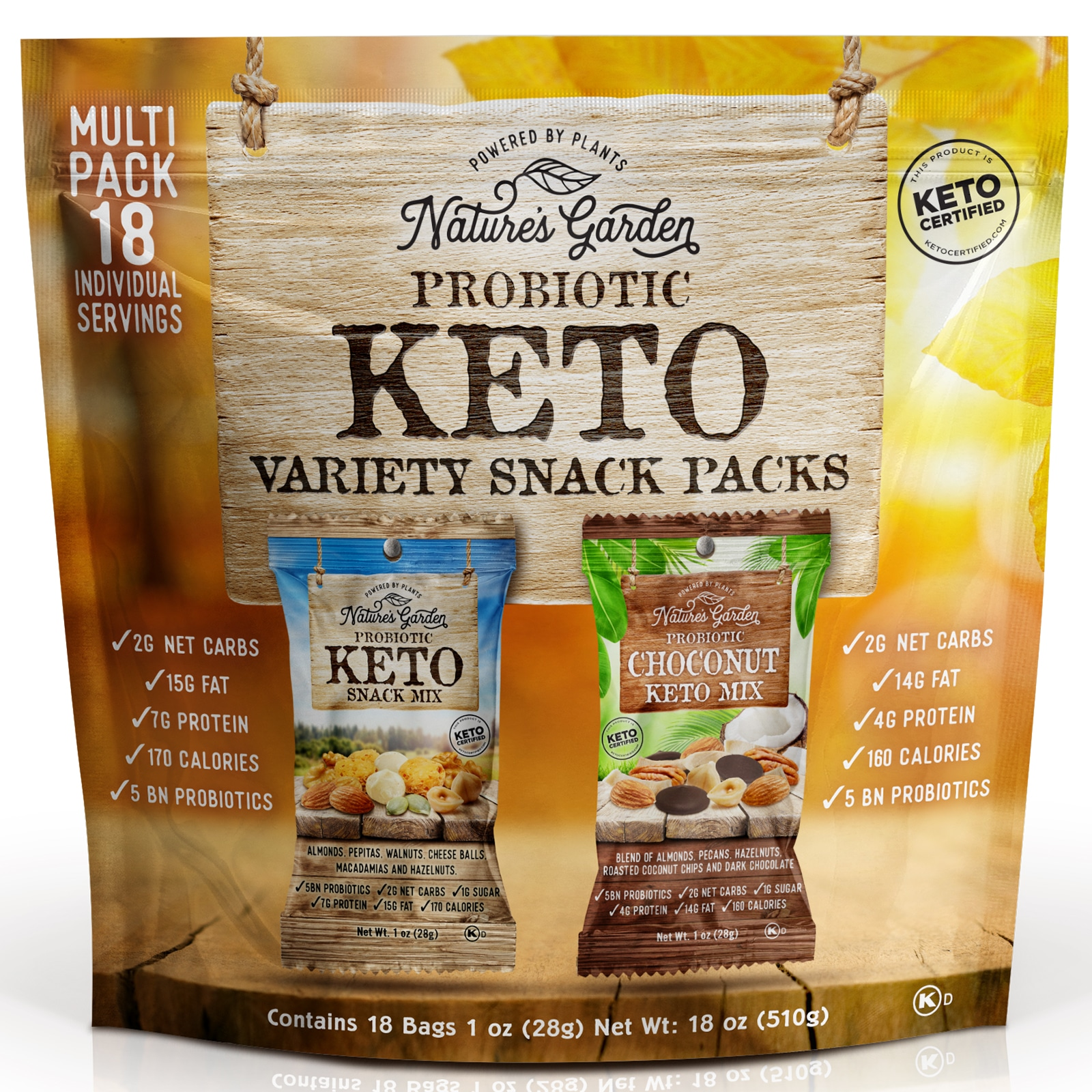 Nature's Garden Unveils Keto Snack Variety Packs