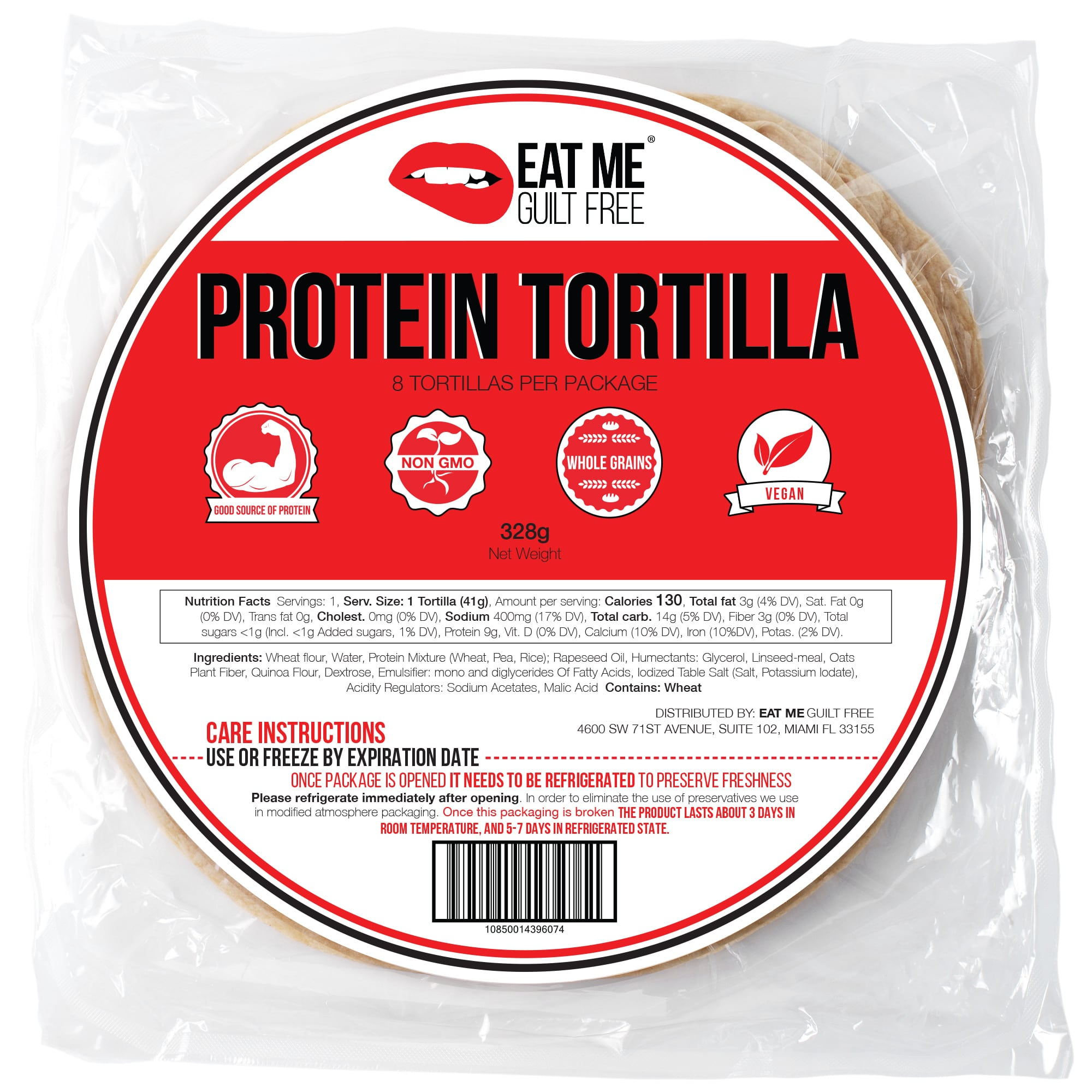 Eat Me Guilt Free Debuts Protein Bread and Tortilla Wraps