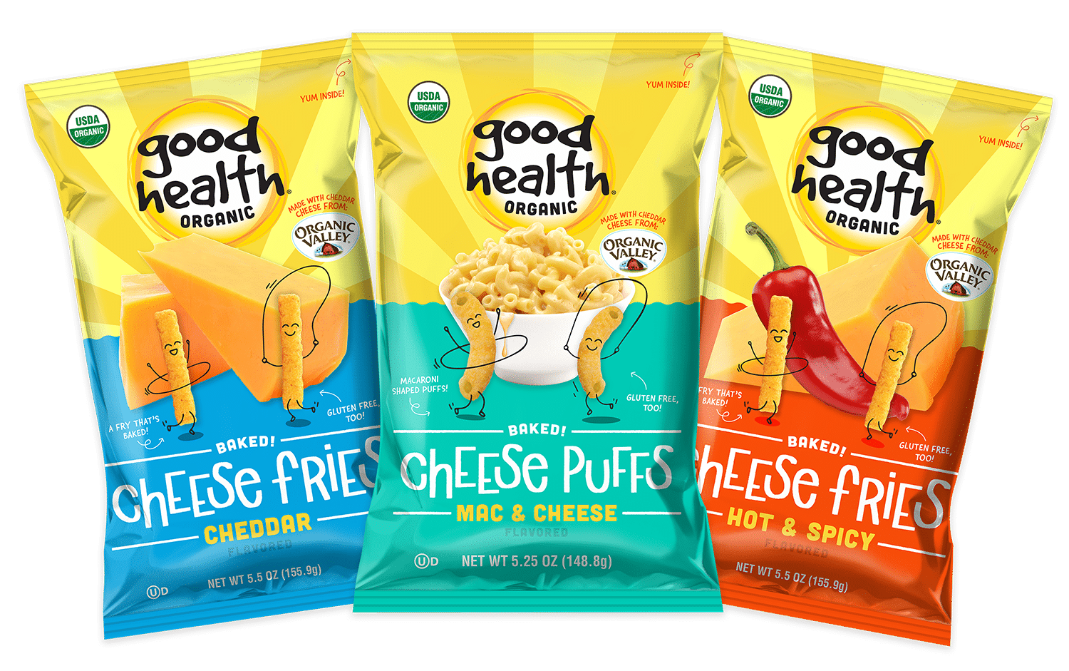 Good Health Introduces New Organic Cheese Snacks