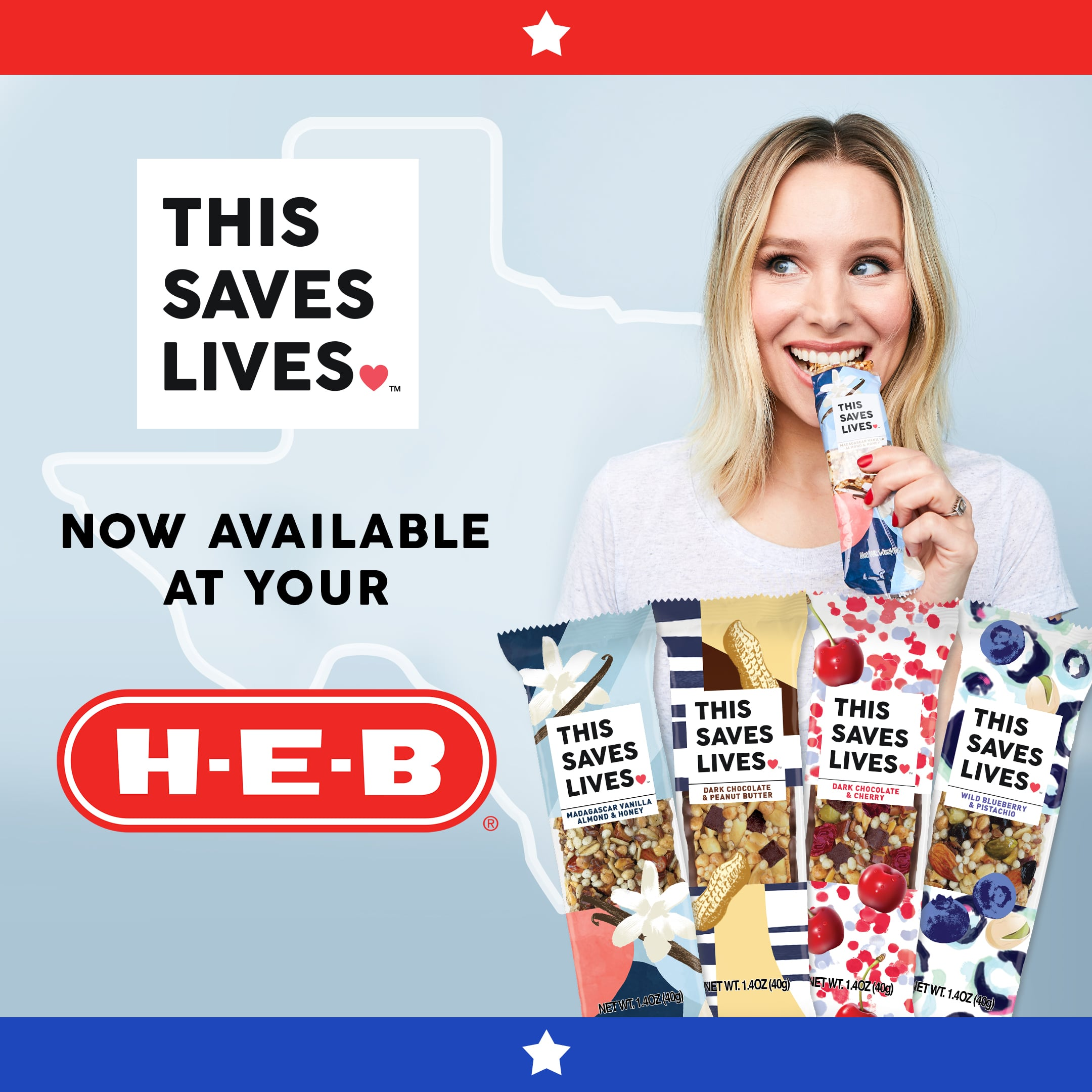 This Saves Lives Launches in Texas H-E-B Stores