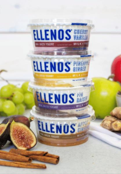 Ellenos Debuts Milk + Fruit Line