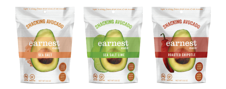 Earnest Eats Launches New Snacking Avocado Line