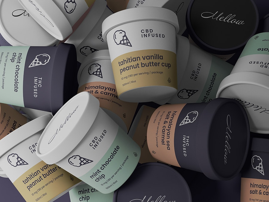 Mellow Introduces Artisanal THC and CBD Infused Ice Cream in Los Angeles