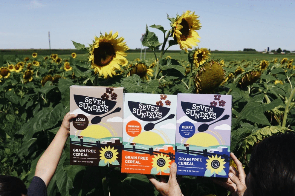 Seven Sundays Launches Grain Free Sunflower Cereal