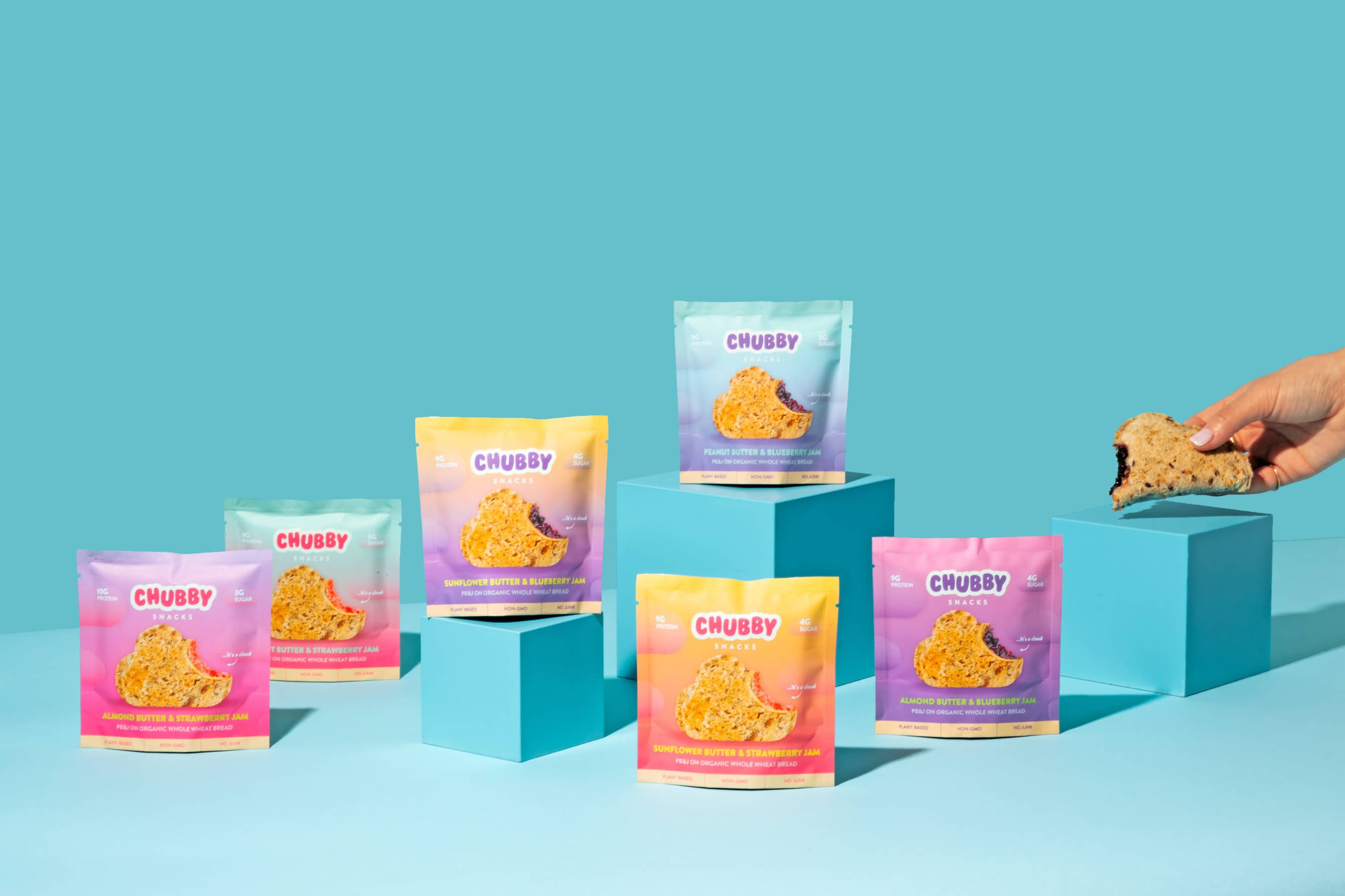 Chubby Snacks Announces Launch of New Shape and Flavors