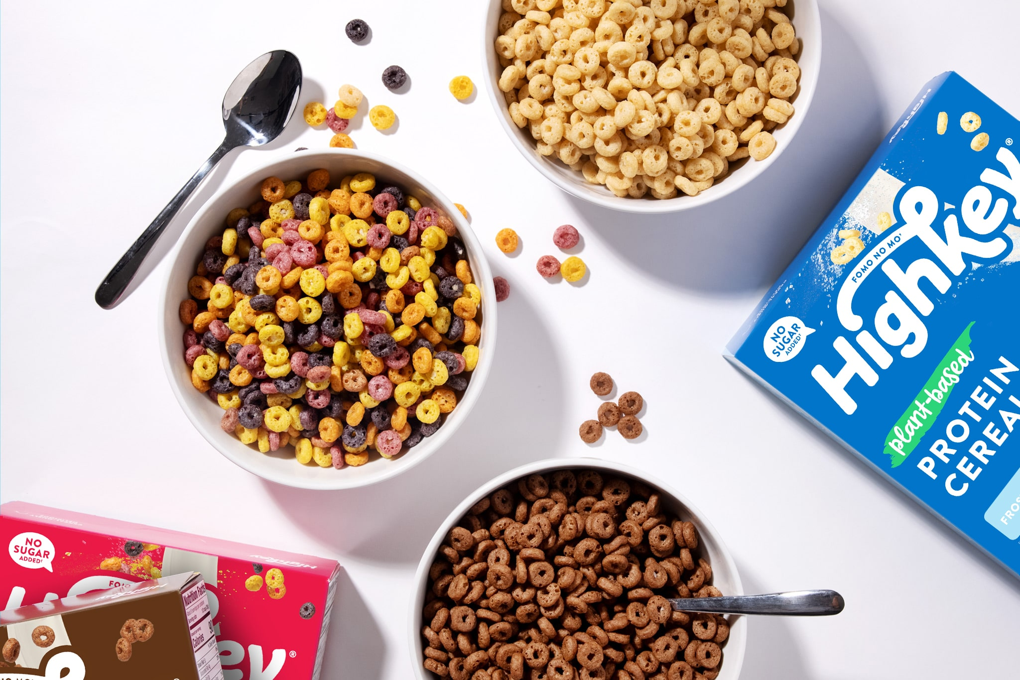 HighKey Launches Plant-Based Protein Cereal