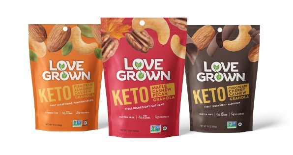 Love Grown Foods Announces Launch of New Keto Granola Line