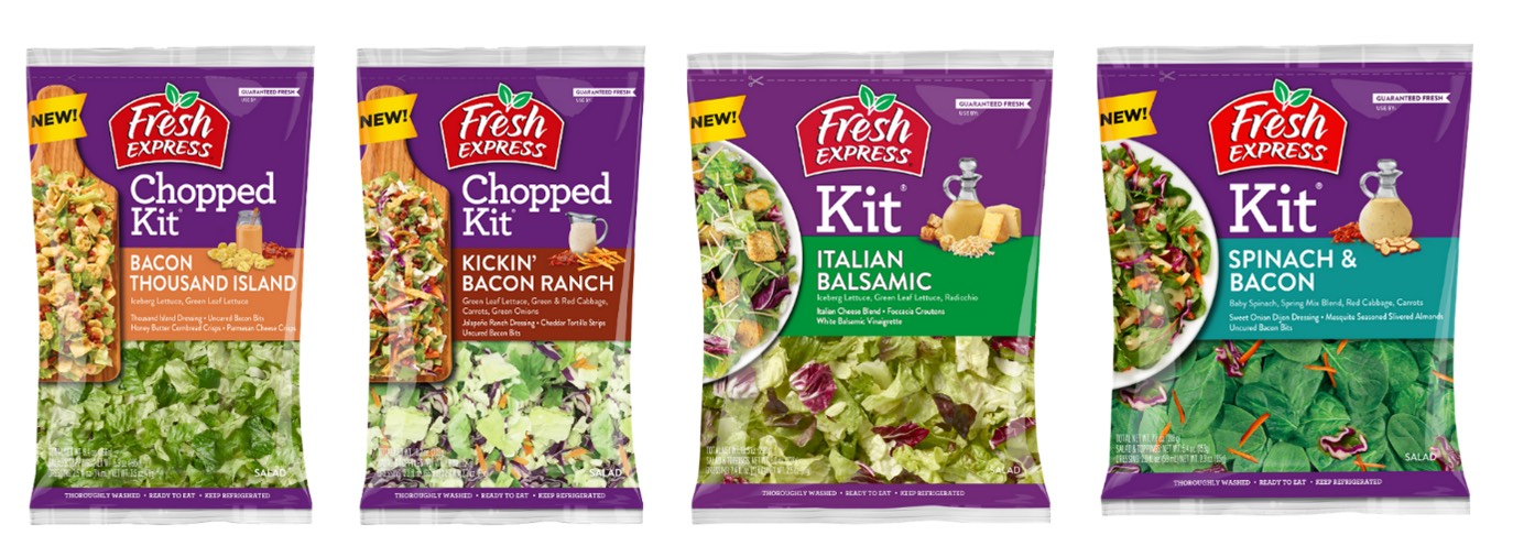 Fresh Express Launches Four New Salad Kits