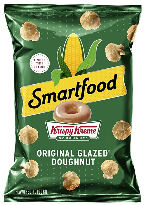 Smartfood Popcorn And Krispy Kreme Unveil Iconic Flavor Mashup With Smartfood Original Glazed Doughnut