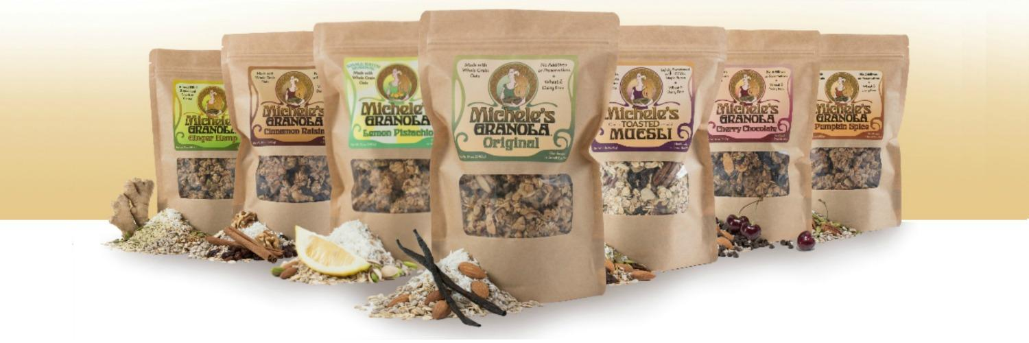 Woman-Owned Michele's Granola Adds Executive Talent And Expands Facilities