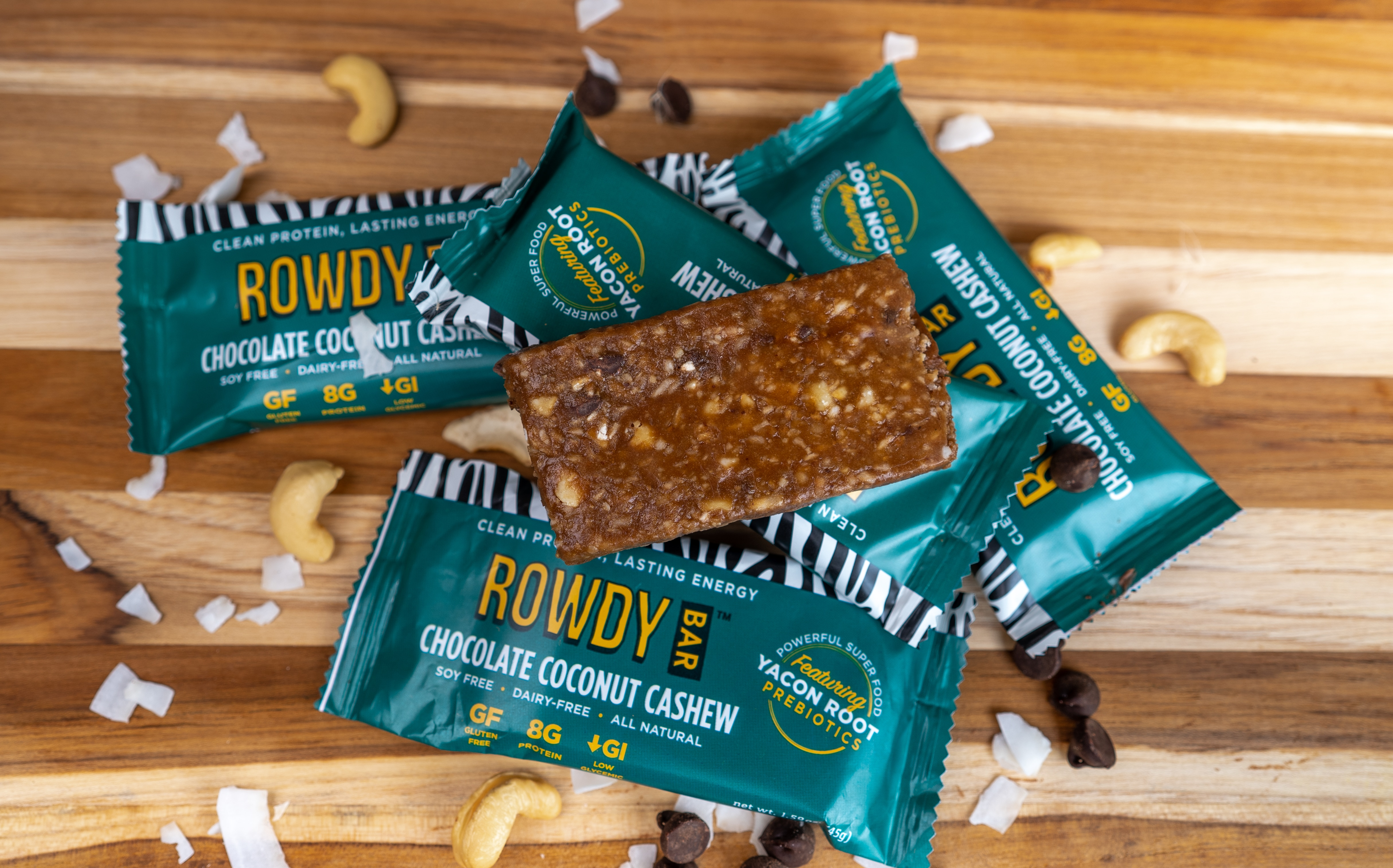 Rowdy Bars Enters Save Mart And Lucky's Market With Superfood Prebiotic Bars
