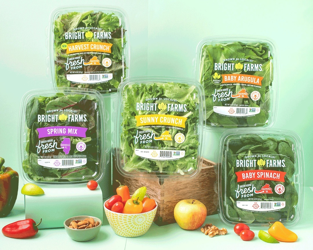 BrightFarms Extends Its Indoor Farming To The Southeast With New Carolina Greenhouse