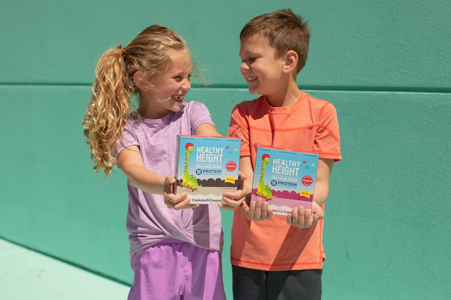 Nutritional Growth Solutions Introduces Healthy Height Snack Bar