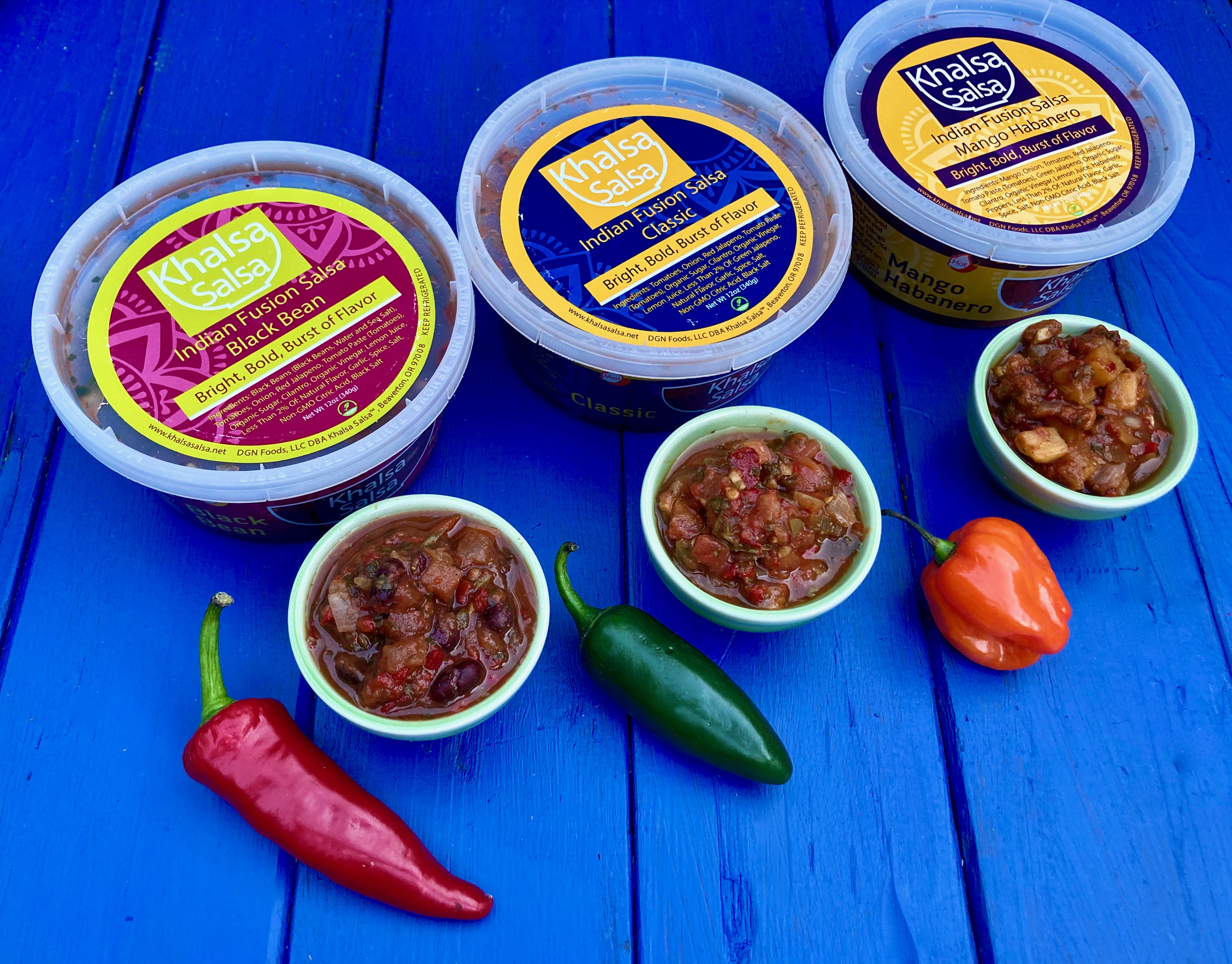 Khalsa Salsa, Portland Based BIPOC Woman Owned Business Launches New Packaging For Indian Fusion Line Of Salsas