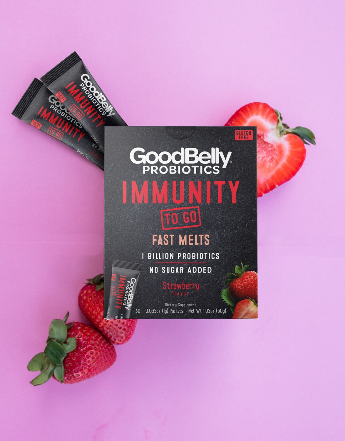GoodBelly Launches Fast Melts For On-The-Go Immune System And Digestion Support