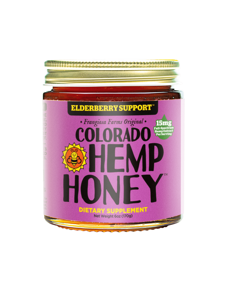 Colorado Hemp Honey Launches Elderberry Support And Feeds The Bees