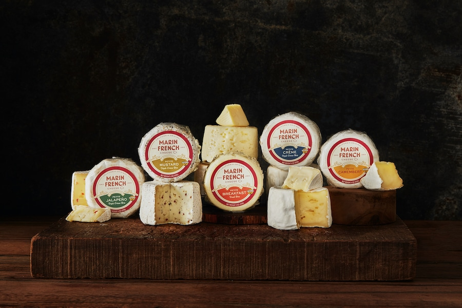 Marin French Cheese Co. Rebrands With New Logo, New Design And Better Visibility For Its Artisan Cheeses