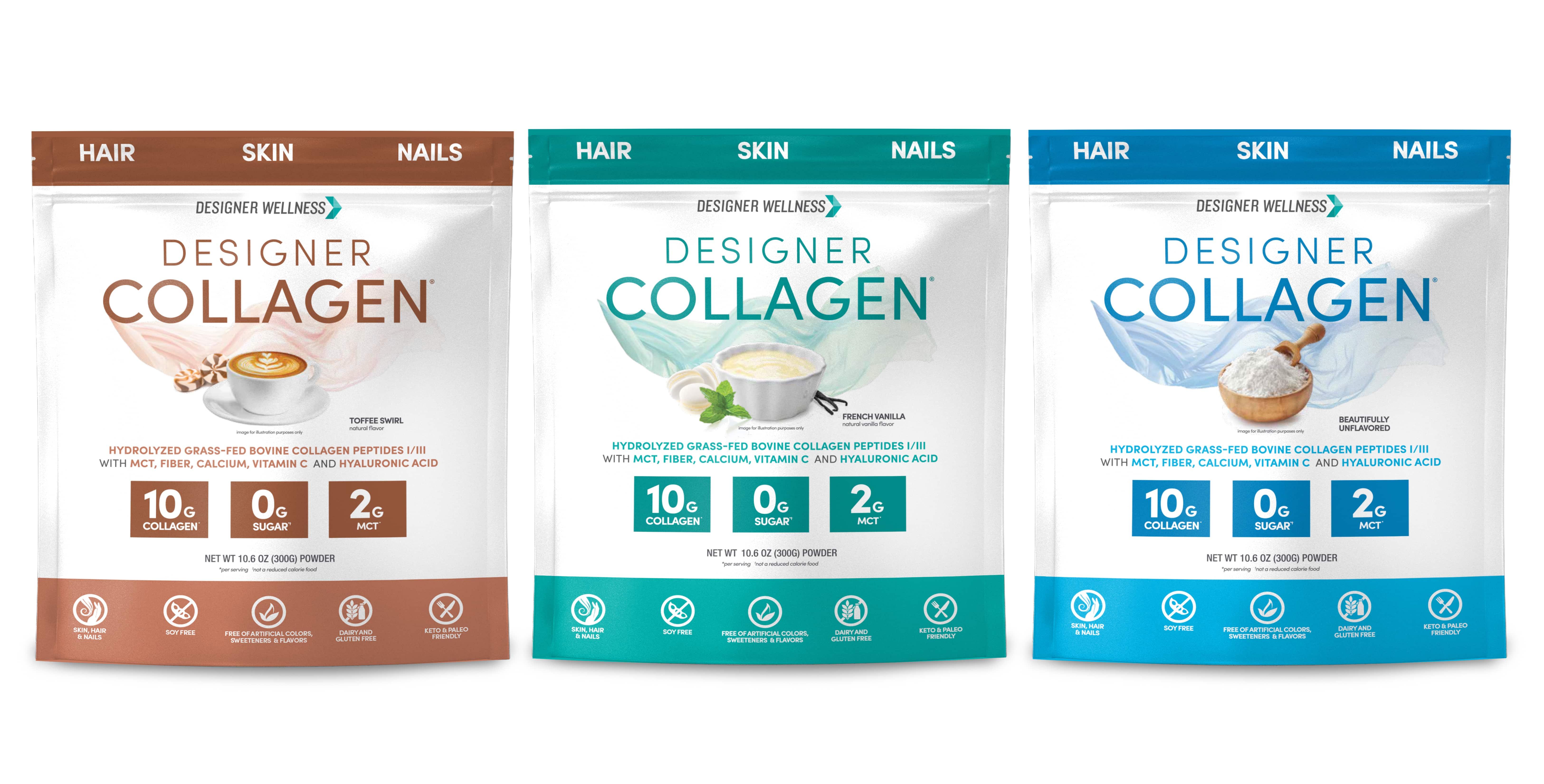 Designer Protein Introduces Designer Collagen