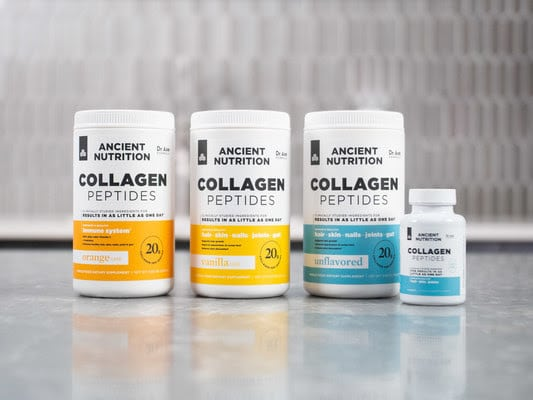 Ancient Nutrition Launches First Clinically Studied Collagen Peptides